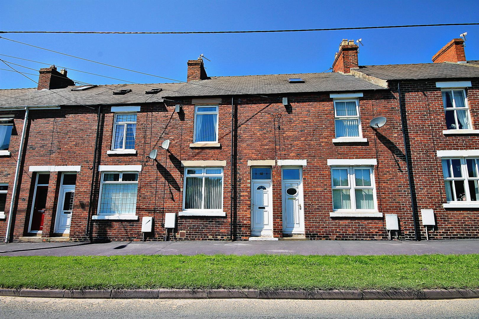 2 Bedrooms Terraced House for sale in Station View, Esh Winning, Durham